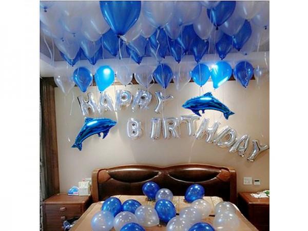 Fish theme Balloon Decoration
