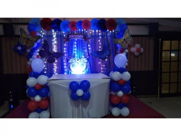Best Butterfly Theme And Balloon Decoration