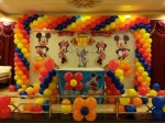 Disney Mickey And Minnie Mouse Theme Decoration