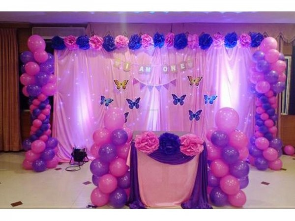 Baby Butterfly Theme Decoration