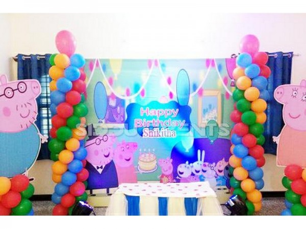 Best Peppa Pig Theme Decoration