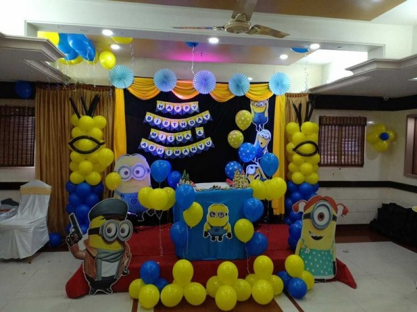 Grand MInion Theme Decoration