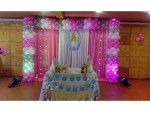 Elegant Square Frame Balloon Theme Decoration