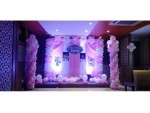 Baby photo Pillar Balloon Theme Decoration