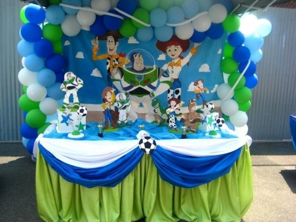 Toy Story Balloon Theme Decoration