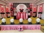 Minnie Mouse Birthday Theme Decoration.
