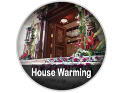 House warming decorations in Bangalore - SidduEvents