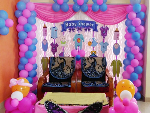 Cute Baby Shower Theme Decoration