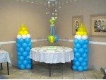 Cute Baby Shower Balloon Decoration