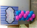 Simple Baby Shower Balloon Decoration