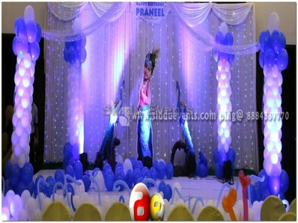 Baby Krishna Theme Decoration