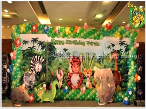 Baby Jungle Theme Decaration