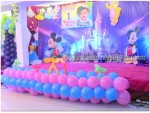 Mickey And Baby Flex Theme Decoration