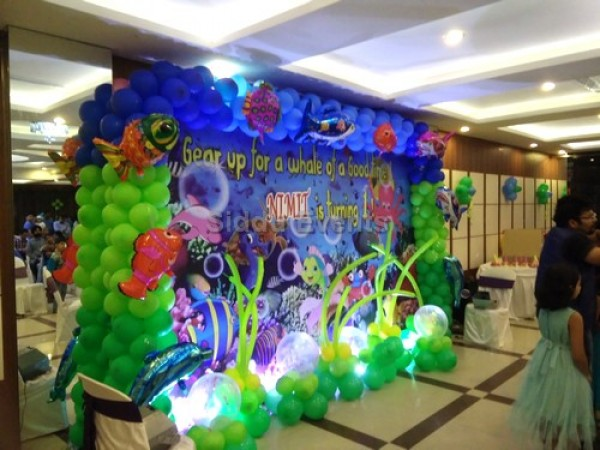 Underwater Backdrop Theme Decoration