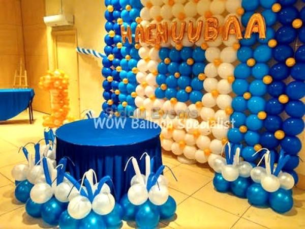 Baloon Wall Theme Decoration