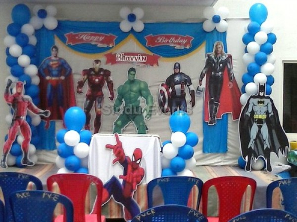 Avengers Theme Decaration 2