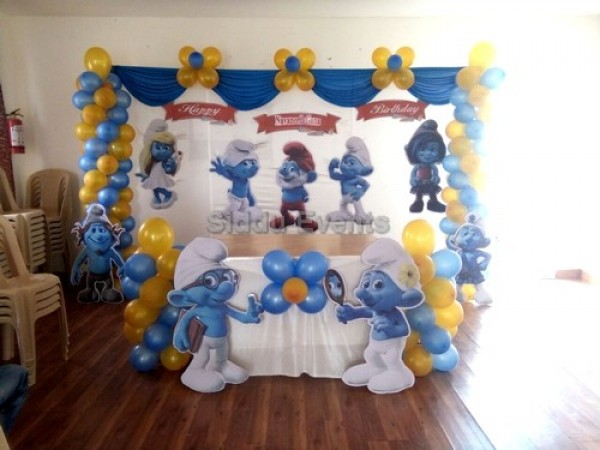 Smurfsbasic Theme Decoration