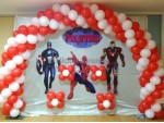 Basic Avengers Theme Decoration