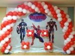 Basic Avengers Theme Decoration