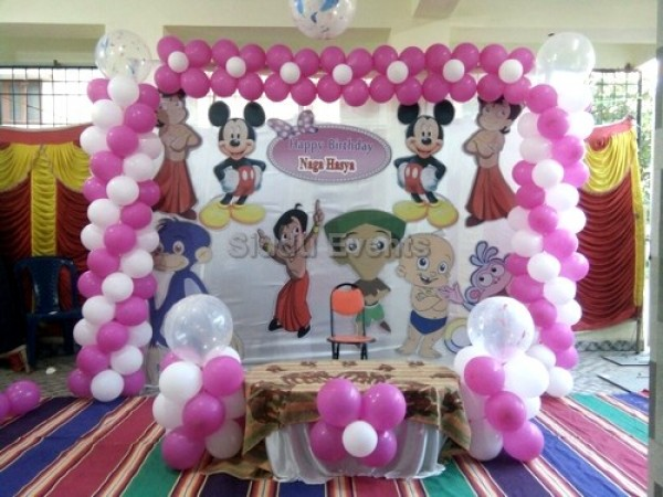 Mickey And Chota Bheem Decoration
