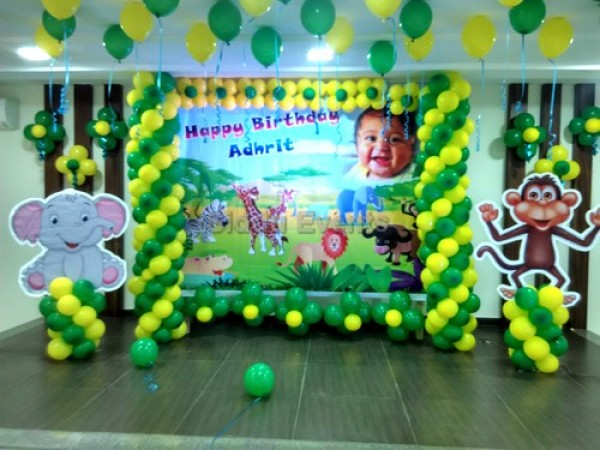 Baby Animal Theme Decoration