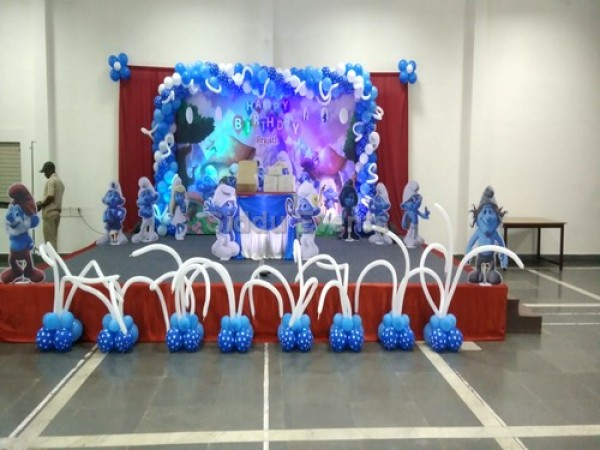Smurfs Theme Decorations