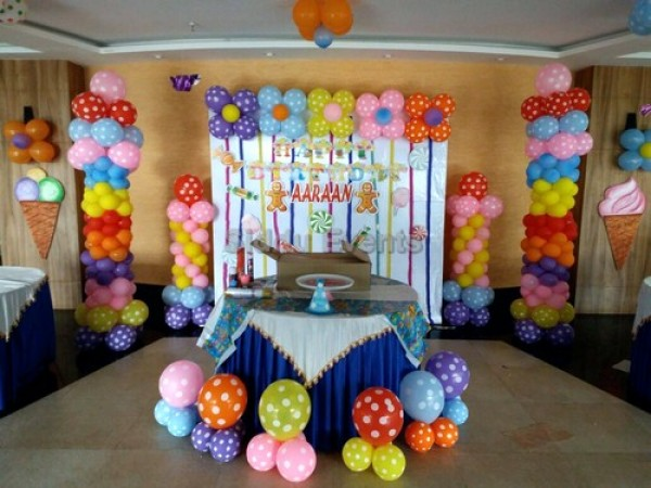 Best Basic Candy Theme Decoration