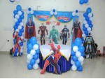 Super Heros Theme Decaration