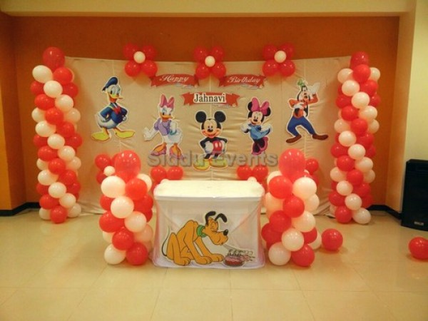 Micky And Pluto Theme Decoration 3