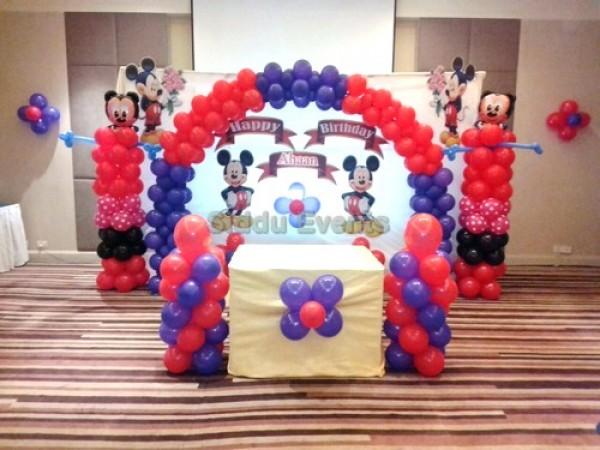 Best Micky Mouse Theme Decoration