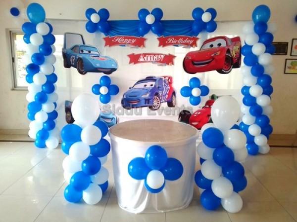 Basic Car Theme Decoration