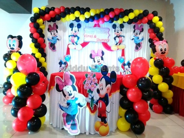 Great Mickey Mouse Theme Decoration