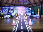 Super Car Theme Decoration For Birthday Party