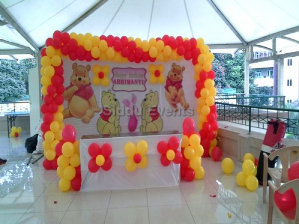 Winnie The Pooh Decoration For Birthday Party 2