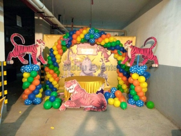 Tiger Theme Decoration