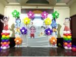 Ball Hanuman Theme Decoration