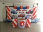Basic Car Theme Decoration