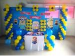 Little Minio Theme Decoration For Birthday Party