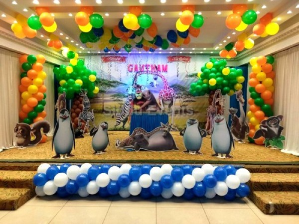 Best Madagascar Theme Decoration