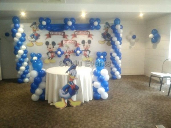 Donald Duck Theme Decoration