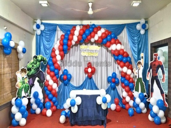 Heros Theme Decoration