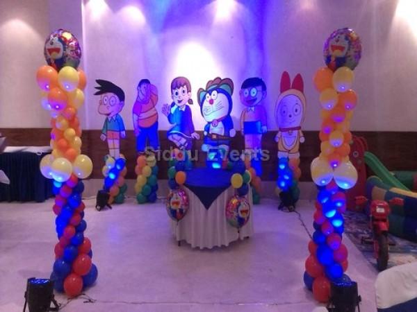 Unique Doremon Theme Decoration