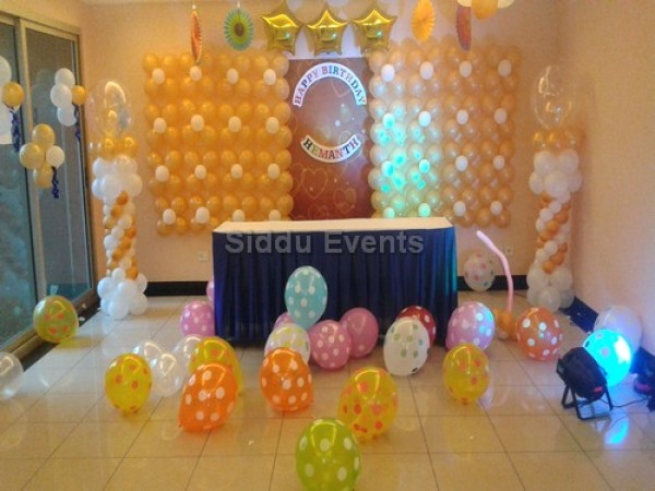 Best Baloon Wall Theme Decoration