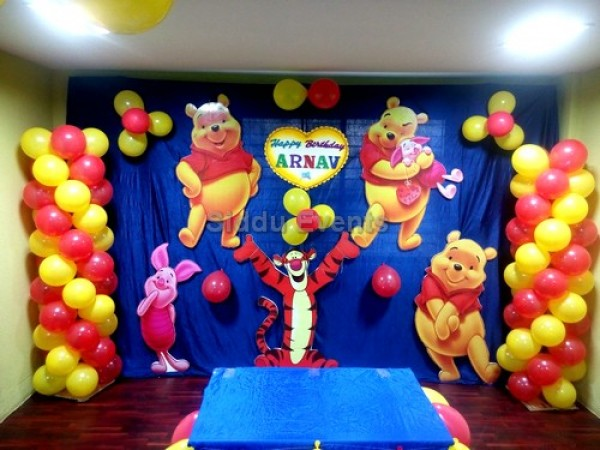 Winnie The Poo And Friends Theme Decoration