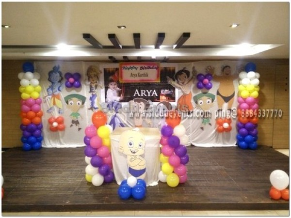 Little Chota Bheem Theme Decoration