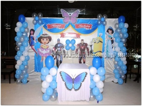 Captain America And Iron Man Theme Decoration