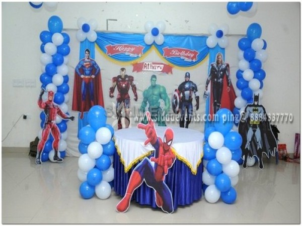 Basic Avengers Theme Decoration 2