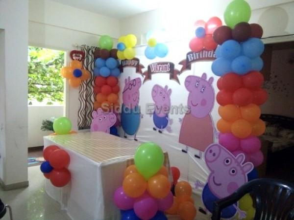 Basic Pepa Big Theme Decoration