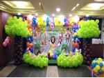 Forest Theme Balloon Decoration