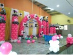 Mickey Pink Balloon Arch Decoration